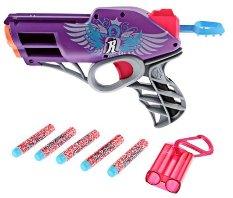 girls nerf rebelle star shoot blaster set preview nerf rebelle messenger kids wearhouse