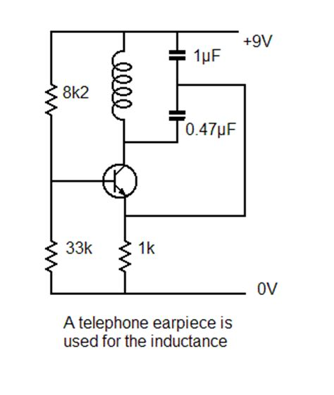 transistor inductor oscillator transistor inductor oscillator 28 images index 42 signal processing circuit diagram seekic