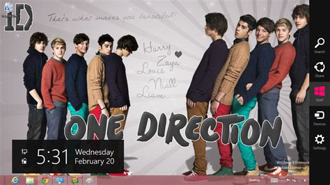 one direction themes for windows 8 1 one direction windows 7 and windows 8 theme ouo themes