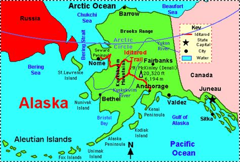 Major City In Alaska Starts With The Letter F