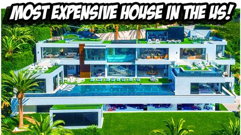 most expensive house tour of the most expensive house in the usa youtube