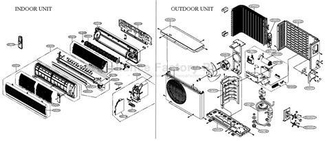 lg split ac capacitor wiring lg split system air conditioner wiring diagram lg wiring diagram exles bandonhospital