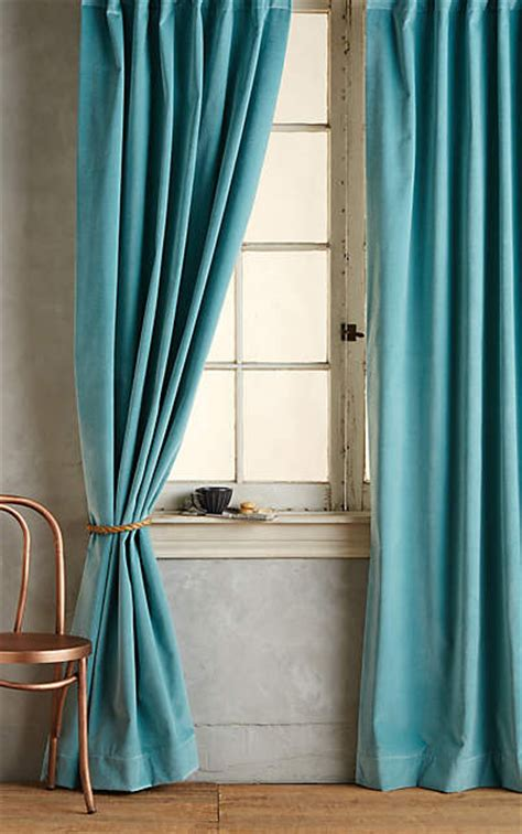 aqua velvet curtains teal matte velvet curtain everything turquoise