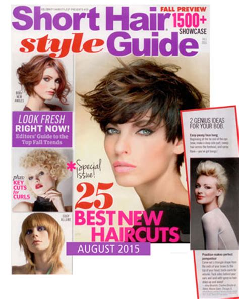 supercuts hairstyles book celebrity hairstyles short hair style guide august 2015