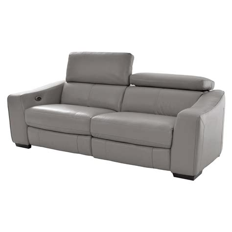 contemporary leather recliner sofa contemporary gray leather corner recliner sofa for the