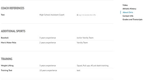 Sle Athletic Resumes Ncsa Athletic Resume Ncsa Email Template