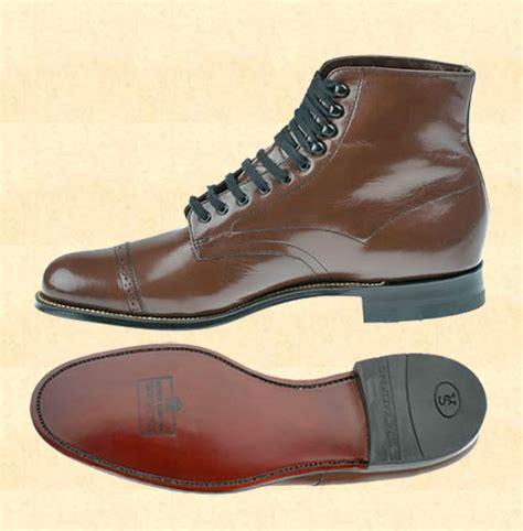 mens hi top dress shoe