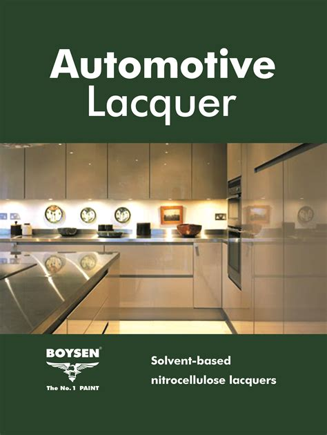 pacific paint boysen philippines inc automotive lacquer boysen 174 automotive lacquer