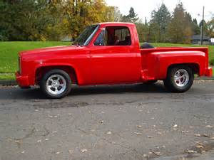 1982 chevrolet stepside custom pu