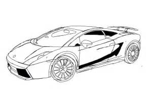 lamborghini gallardo coloring pages coloringstar