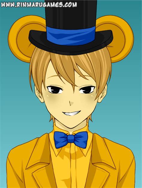 golden anime human freddy golden freddy by puppyluv230 on deviantart
