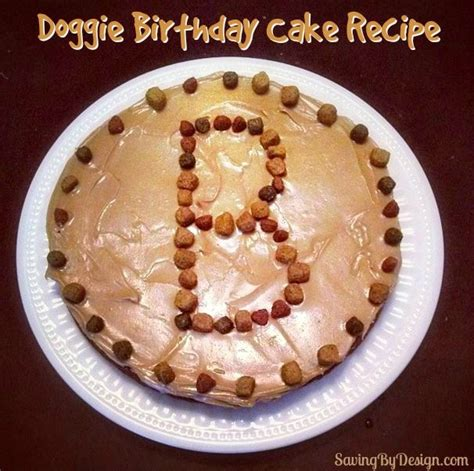 doggie birthday cake recipe birthdays friend birthday  cakes