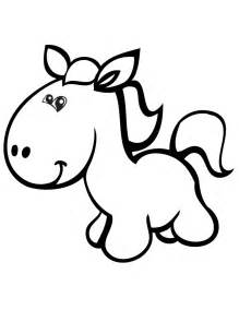pretty horse cartoon pictures clipart best