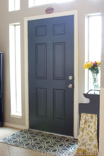 More Painted Interior Doors Before And After Decorchick Painting Interior Doors