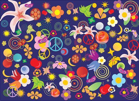 imagenes navideñas animadas y bonitas カラフルなのイラスト フリー素材 背景 壁紙no 584 カラフルフラワー