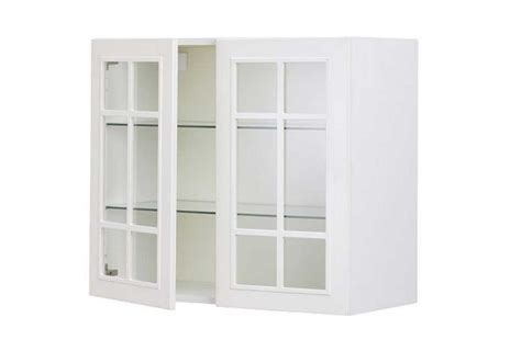 Ikea Glass Kitchen Cabinet Doors For Sale With White White Glass Door Kitchen Cabinets