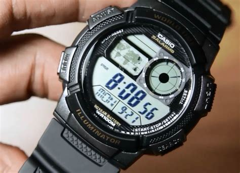 Casio Original Standard Ae 1000w casio standard ae 1000w 1av indowatch co id