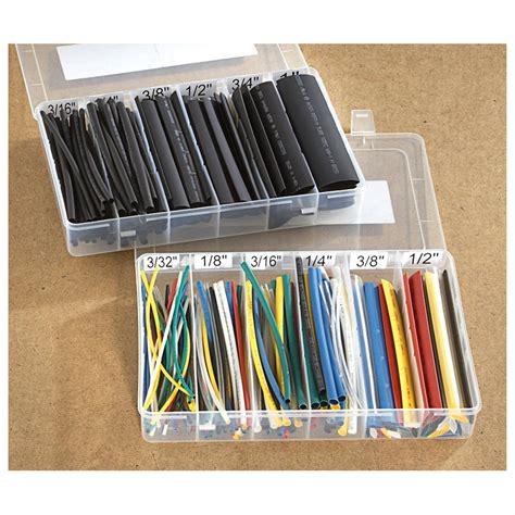 Hair Dryer Heat Shrink Tubing 235 pc tubing heatshrink kit 580240 garage tool accessories at sportsman s guide