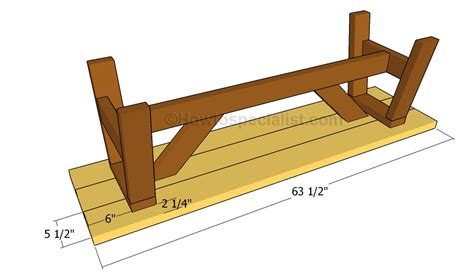 plans to build a bench seat wooden bench plans howtospecialist how to build step