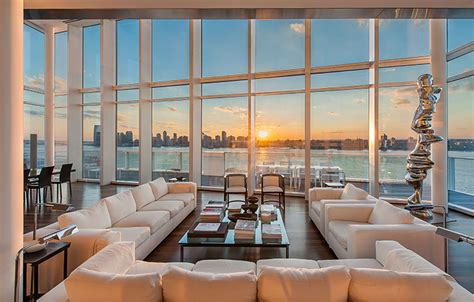 One Bedroom Duplex luxury living view from the top christie s