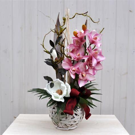 fiori per composizioni composizione fiori artificiali jacqueline per arredamenti