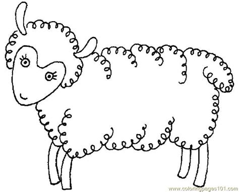 cute lamb coloring pages free cute lamb coloring pages