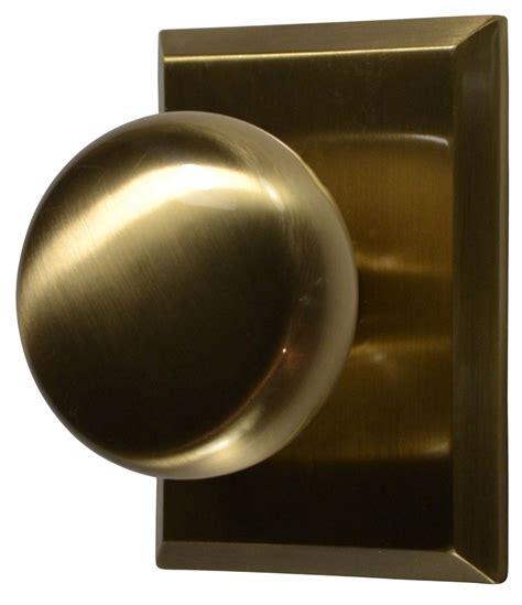 antique brass knobs traditional round brass door knob antique brass finish