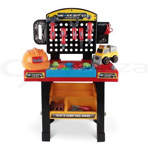play tool pretend play children diy workbench tools