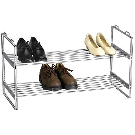 Shoes Organiser 2 In 1 Shoes Organizer 2 tier shoe rack 5380462 hsn