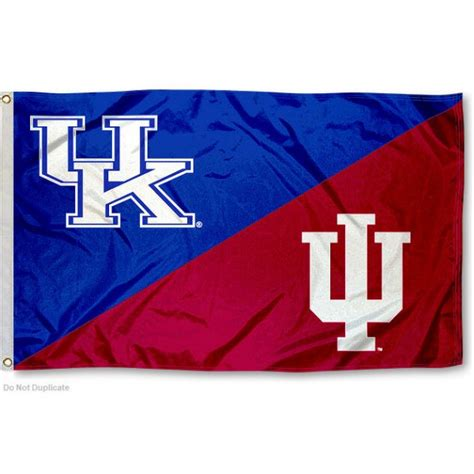 house divided flags house divided flag iu hoosiers vs uk wildcats your