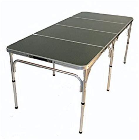 lightweight aluminum folding table the original quot quatro four quot lightweight aluminum portable