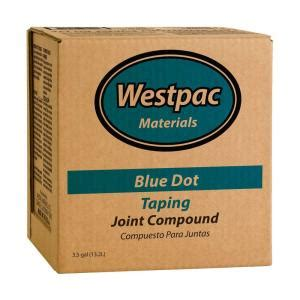 Blue Dot Plumbing by Westpac Materials 3 5 Gal Blue Dot Taping Pre Mixed Joint