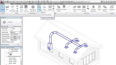 tutorial revit mep 2012 pdf revit mep 2012 session 5 create duct system mp youtube