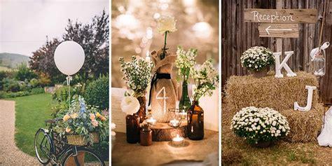 Rustic Wedding Decor by 27 Rustic Wedding Decoration Ideas