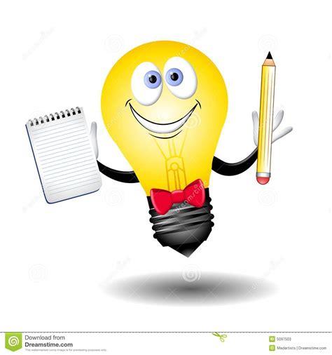 la idea de la 8425428378 el individuo de la bombilla de la idea stock de ilustraci 243 n ilustraci 243 n de historietas