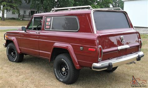 jeep cherokee golden eagle 1979 amc fsj jeep cherokee chief golden eagle wide track