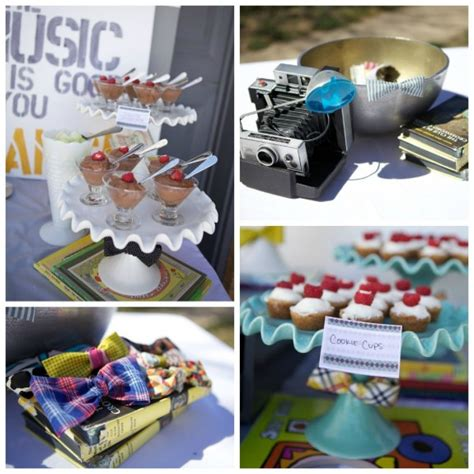 dessert tables on a budget inspiration bow ties a vintage anthropologie inspired little man baby shower