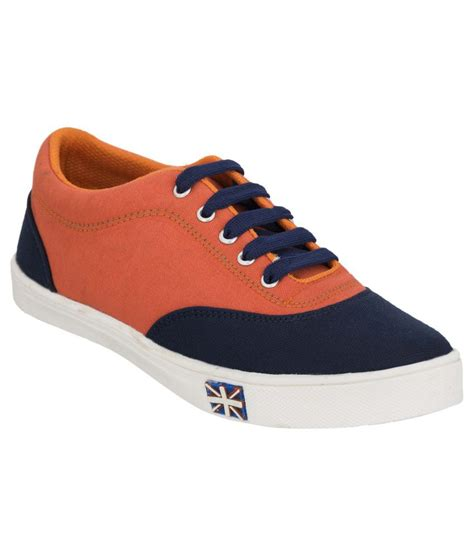 crab shoes orange canvas shoes price in india buy crab