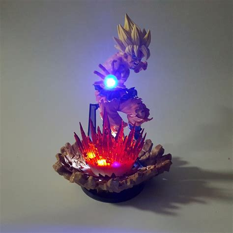dragon ball z led l dragon ball z action figures son goku super saiyan
