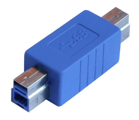 Termurah Usb 3 0 To Adapter superspeed usb 3 0 type b to 3 0 type b converter adapter au3b11 ebay