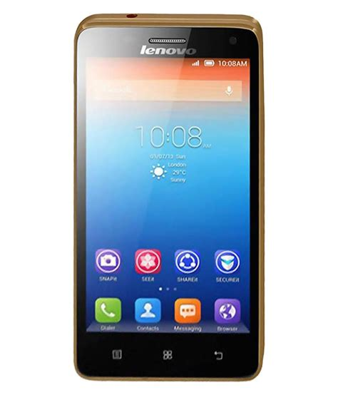 Lenovo Gold lenovo s660 8gb gold mobile phones at low prices snapdeal india