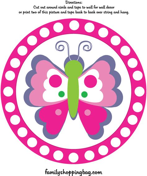 free printable butterfly birthday decorations butterfly wall decoration 2 469971 png