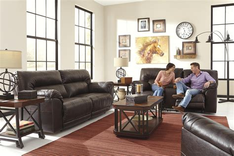 spartan sofa benchcraft spartan 4730181 bonded leather match 2 seat