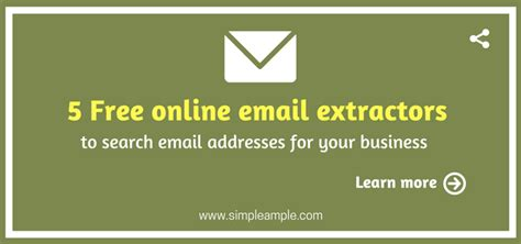 Free Company Email Address Search 5 Free Email Extractors To Search Email Addresses