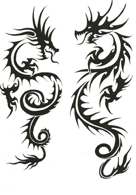 chinese dragon tribal tattoo 1000 ideas about tattoos on