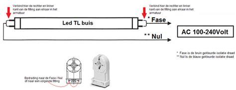 Lu Tl T5 8 Watt By Union aansluitschema voor led tl buizen