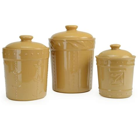signature housewares sorrento kitchen canisters 3 piece sets everything kitchens 71 best images about canister sets on pinterest ceramics