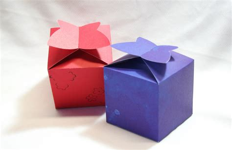 Gift Boxes From Paper - diy box gift box paper box box template printable gift