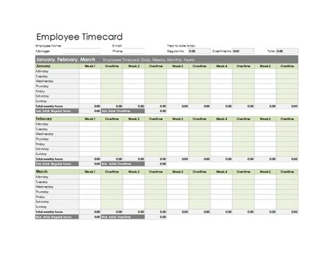 Https Access Templates Tag Time Card Html by Employee Time Card Calculator Excel For Microsoft
