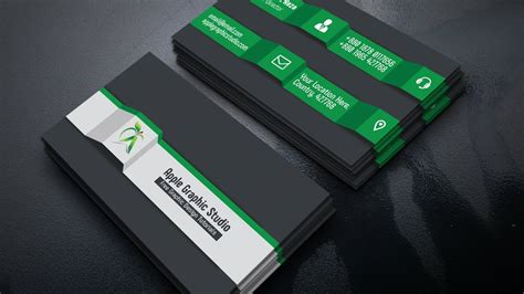 3d Business Cards how to create a 3d business card in photoshop